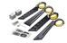 Topeak DeFender XC1/XC11 - Juego de guardabarros - negro